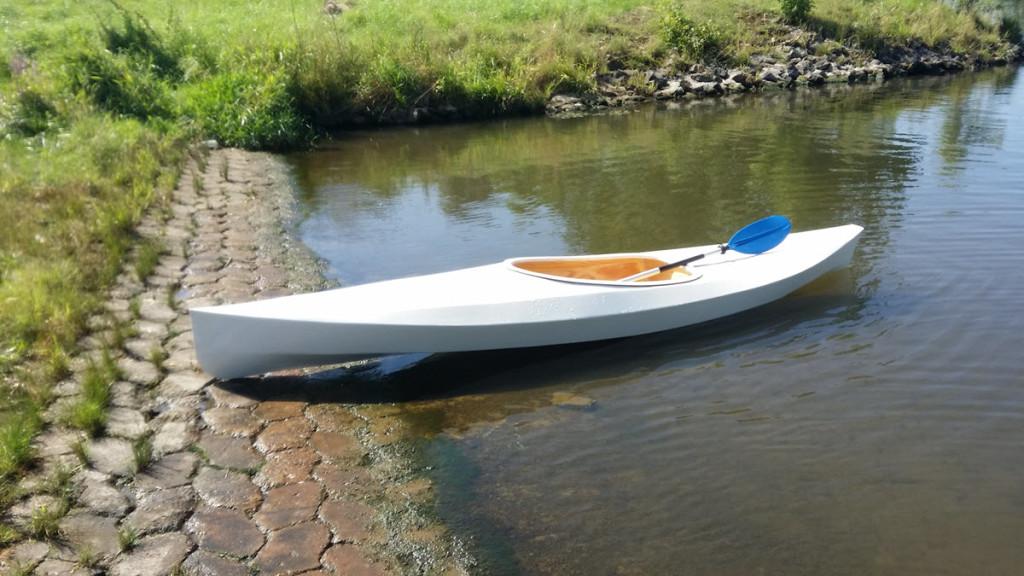 Testfahrt an der Weser